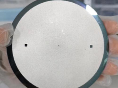 4''晶圆TSV填充后图片